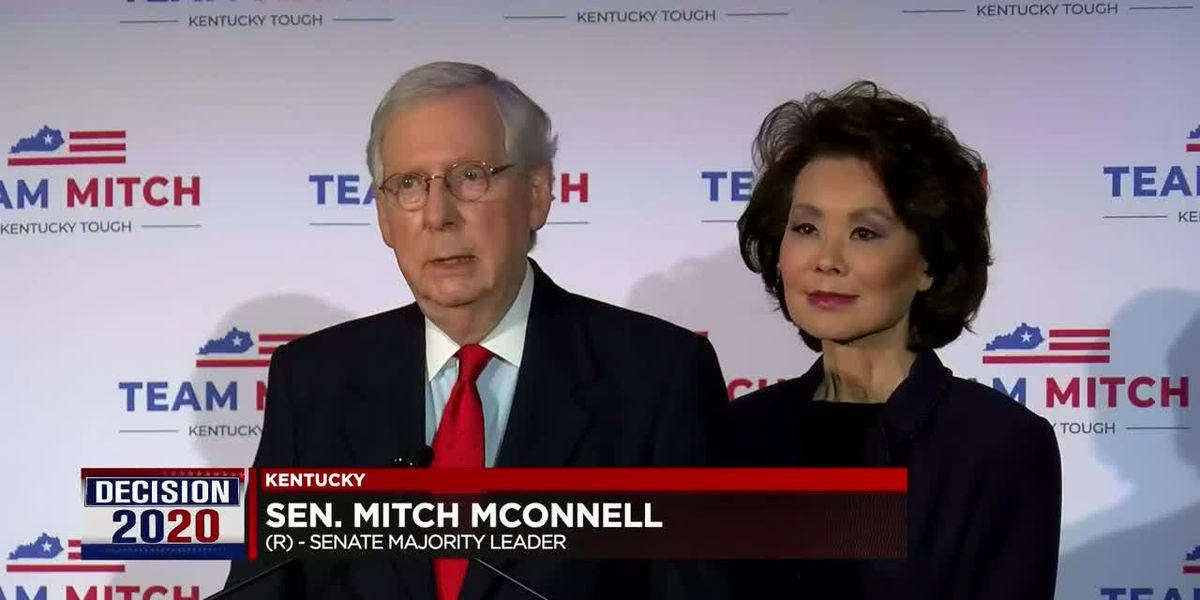 Sen. Mitch McConnell wins re-election bid, secures 7th term