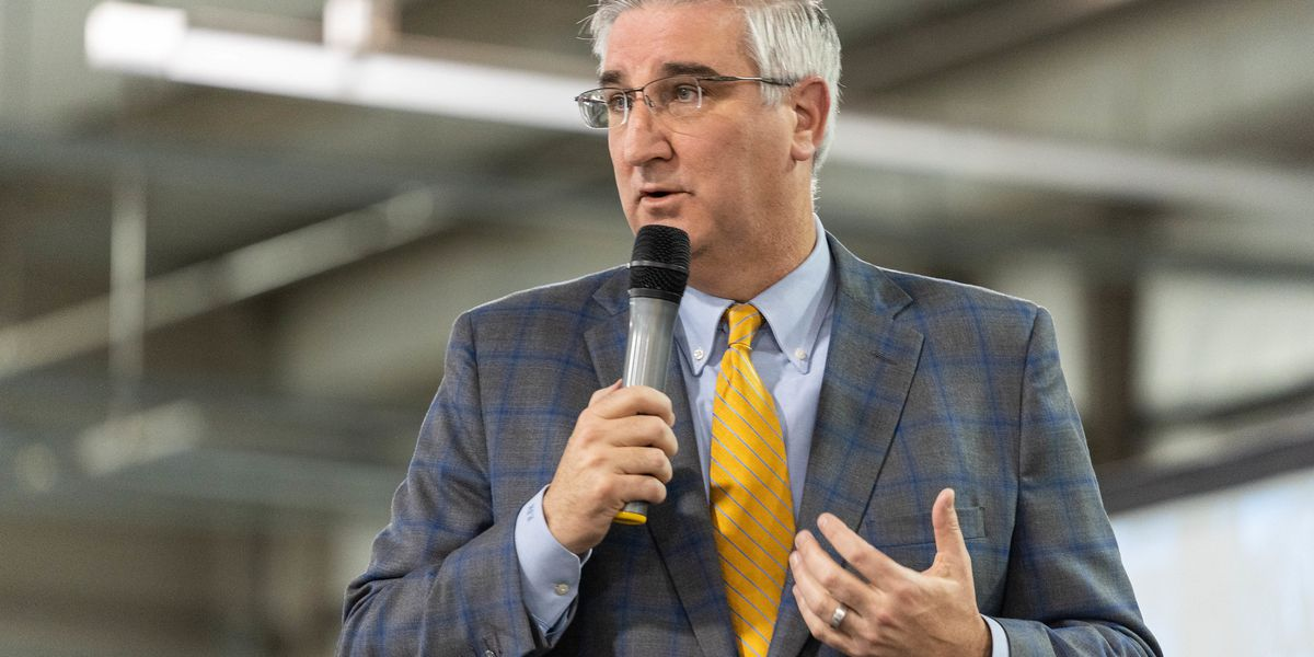 Eric Holcomb wins re-election as Indiana Governor