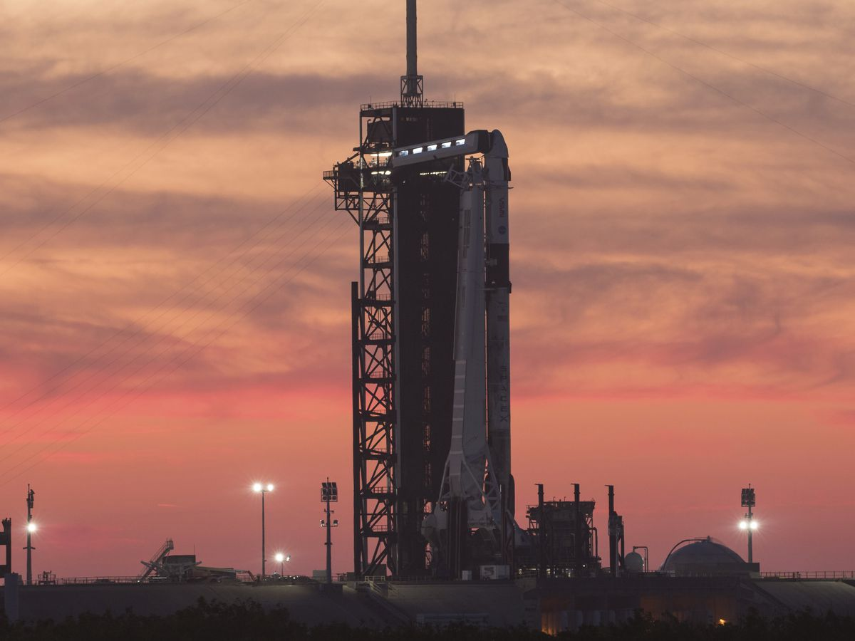 SpaceX aims for 3rd crew launch hour before Friday's sunrise