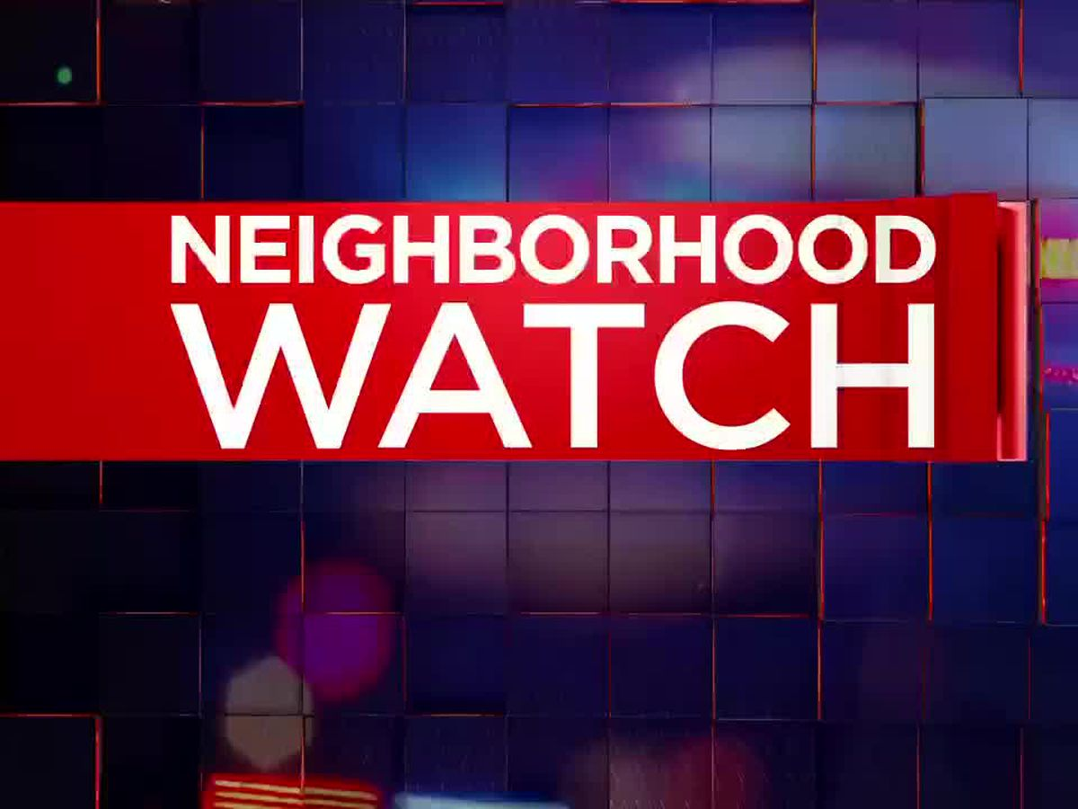 Neighborhood Watch: EPD seeking help, information after thefts