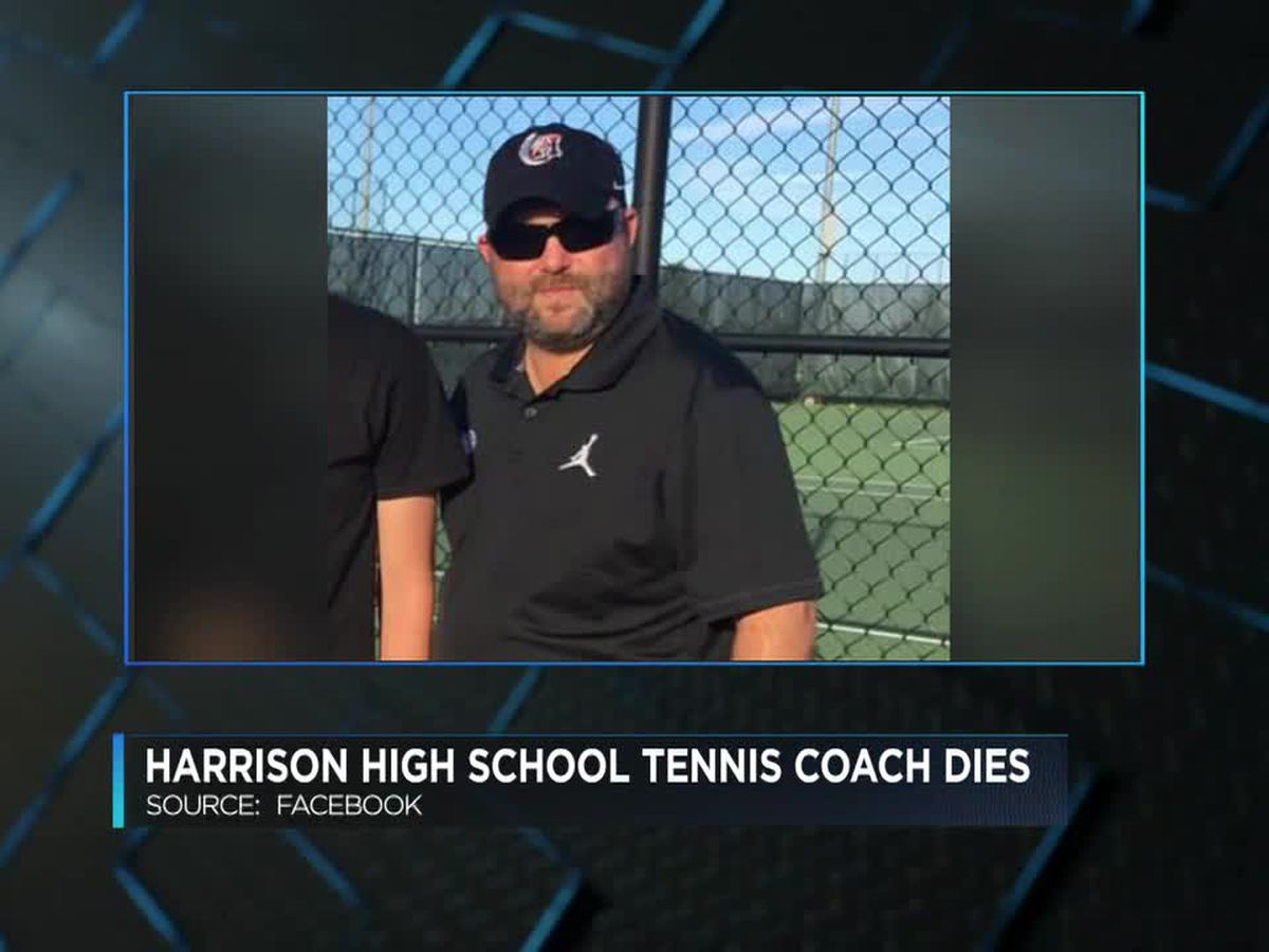 Harrison High School tennis coach passes away unexpectedly
