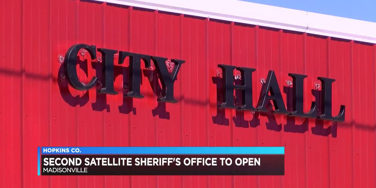 Hopkins Co. Sheriff Department to open second satellite office