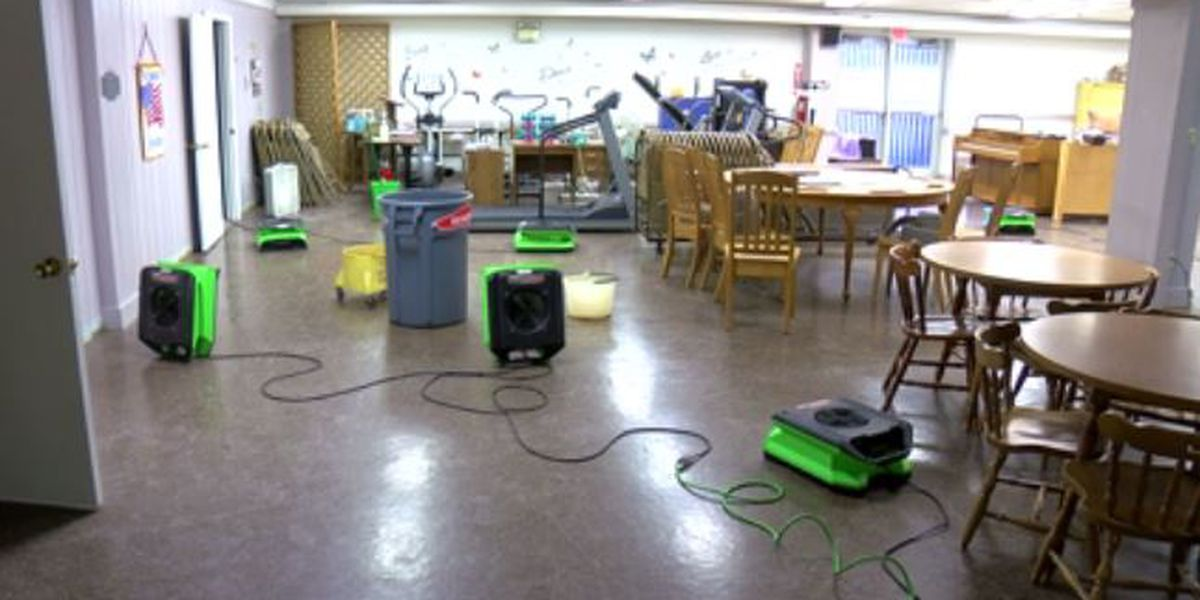 Roof leaks again at Gibson Co. Senior Center