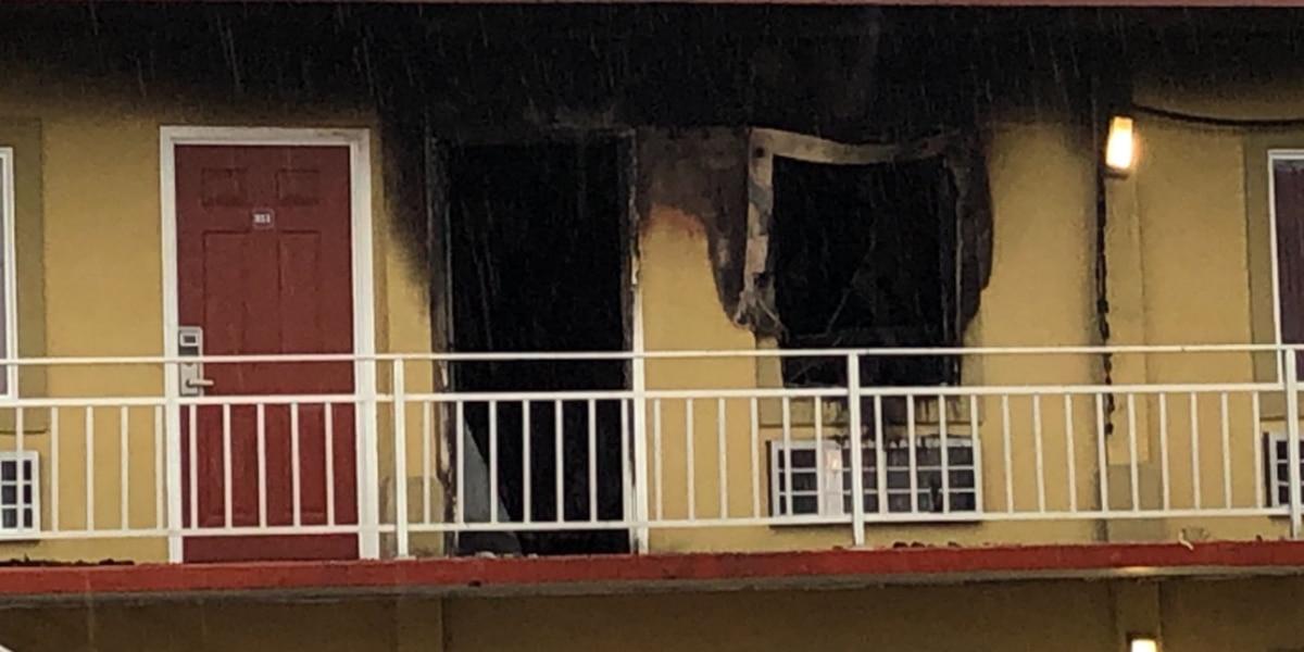 Crews respond to motel fire in Henderson