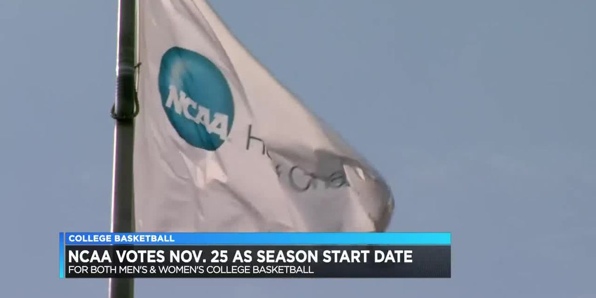 NCAA schedules return date for college basketball season on Nov. 25