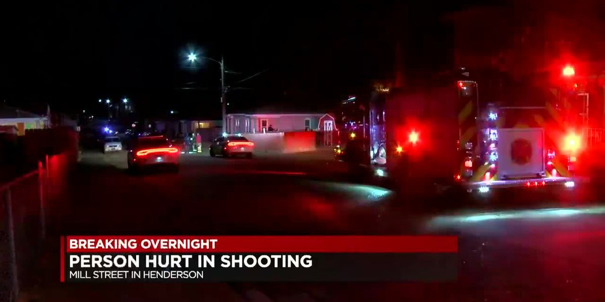 One person hurt in Henderson shooting