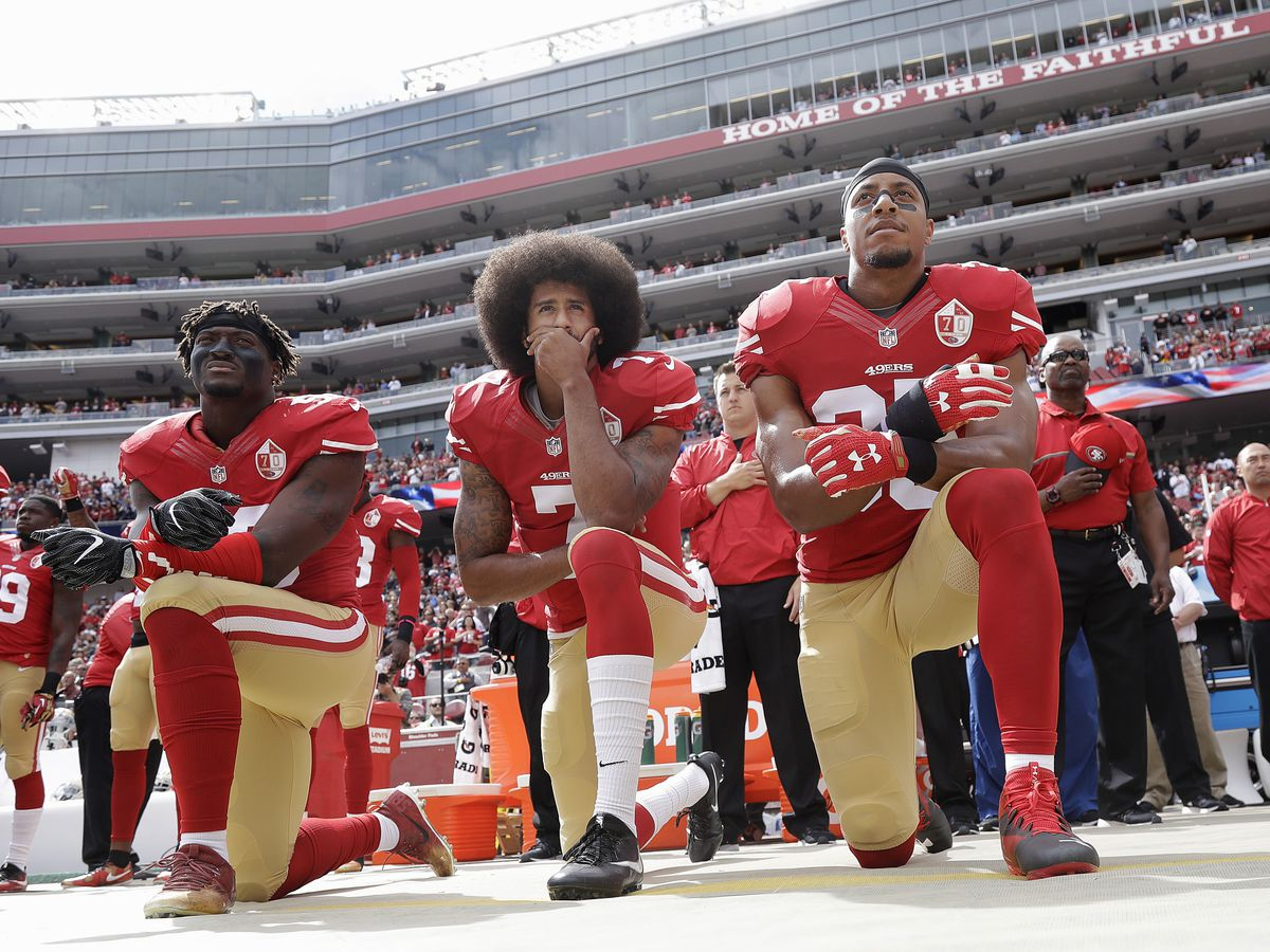 Support for Colin Kaepernick grows; Goodell says NFL was wrong for not listening to players