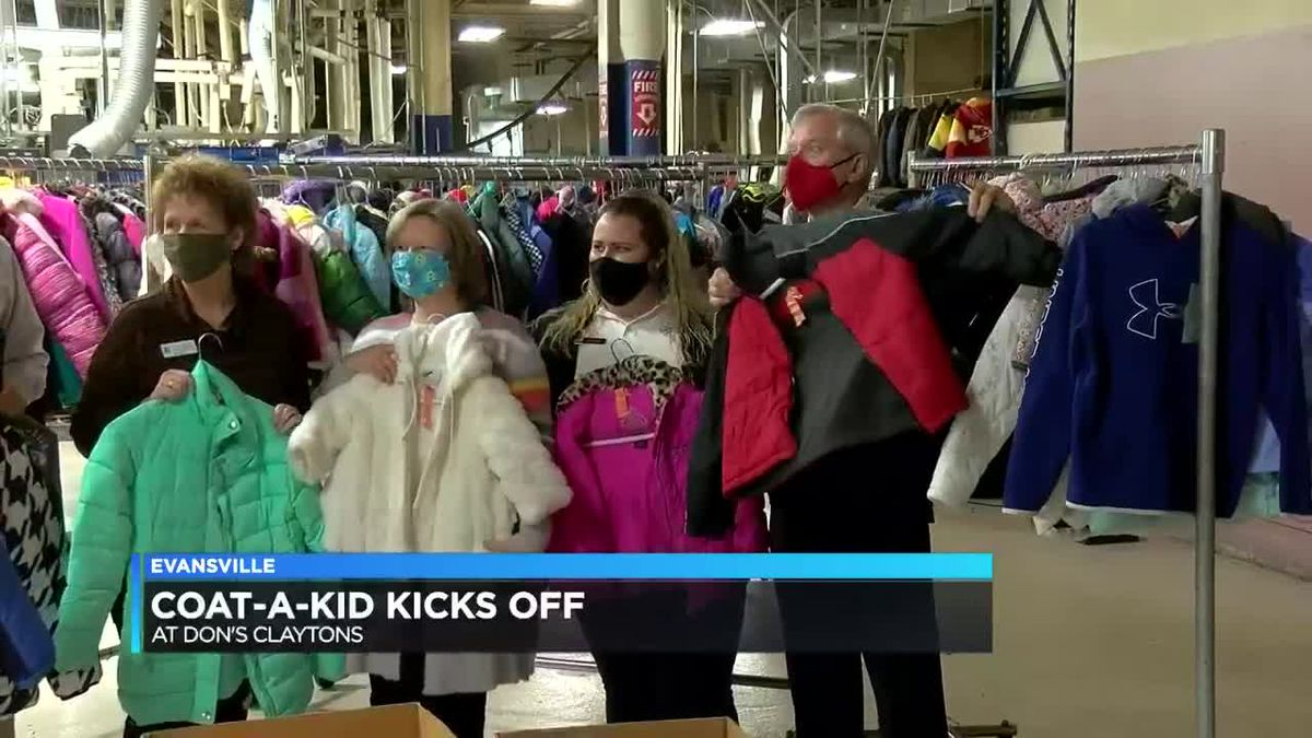 'Coat-A-Kid' campaign kicks off