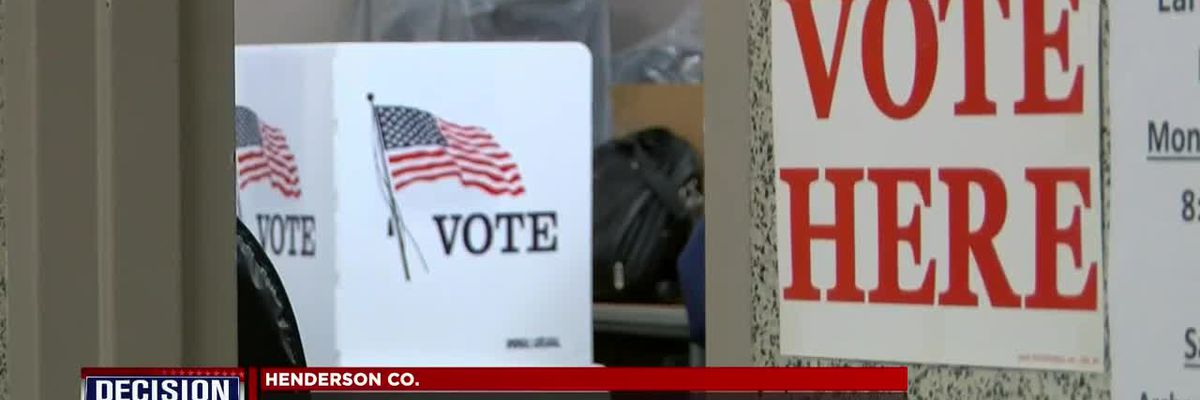 Over 11k people participated in early voting in Henderson Co.