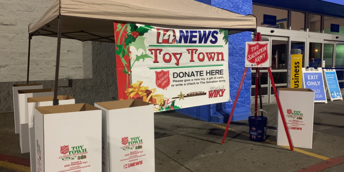 Salvation Army of Evansville collecting donations for ToyTown
