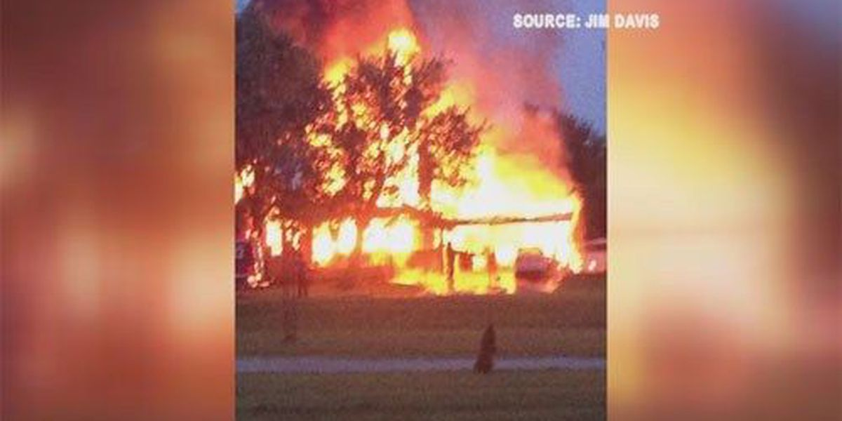 Car fire spreads to Madisonville home