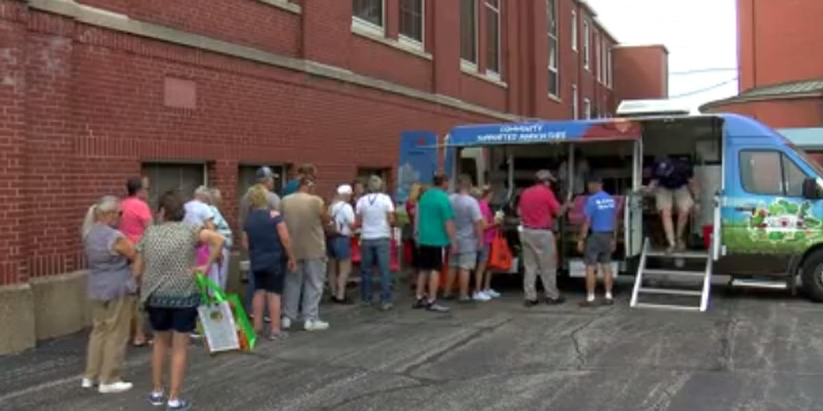 St. Anthony Catholic Church holds produce giveaway event