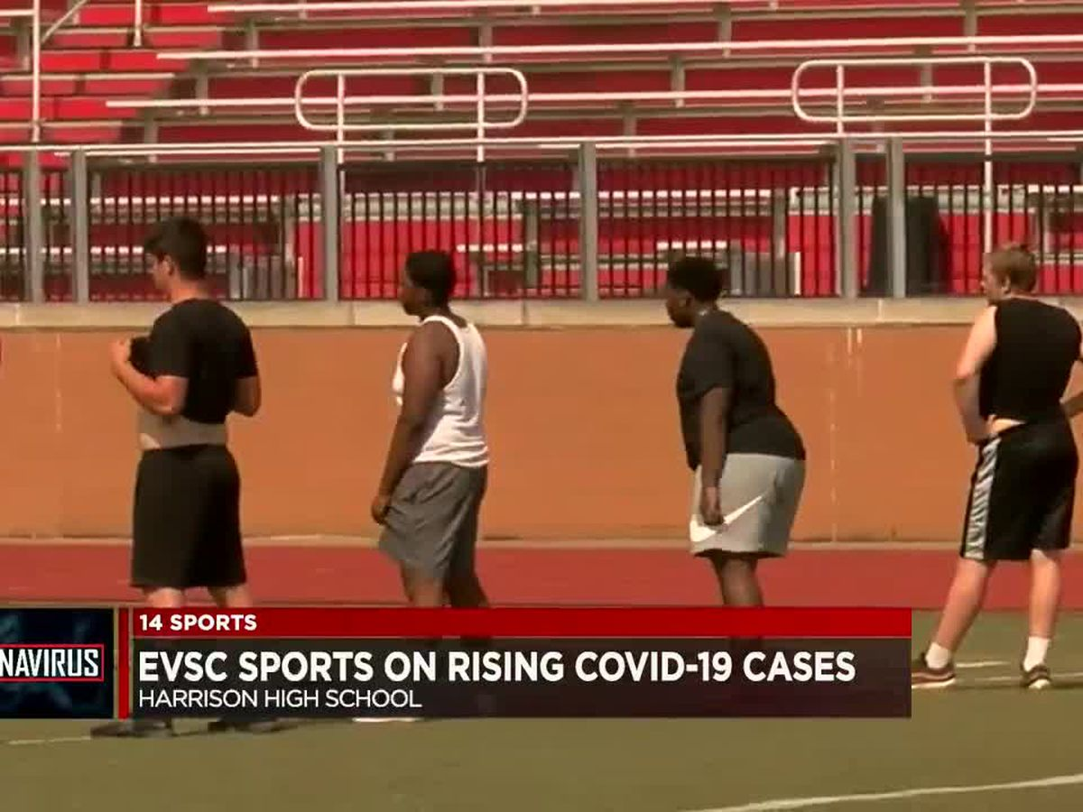 EVSC Athletic Director responds to rising COVID-19 cases in Vanderburgh Co.