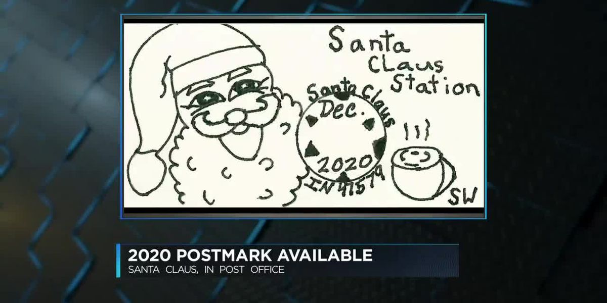 2020 holiday postmark now available in Santa Claus