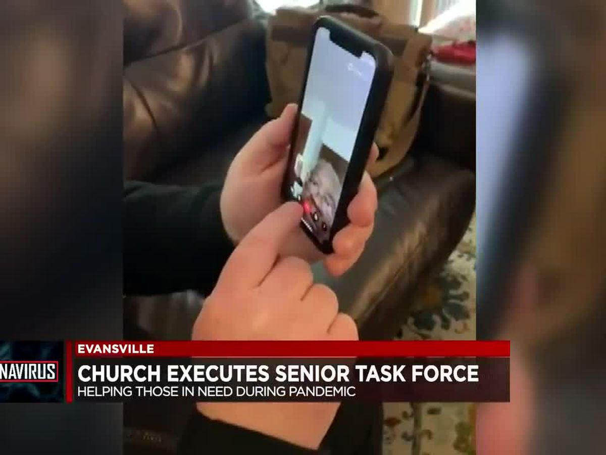 Local church using technology to stay connected with elderly members