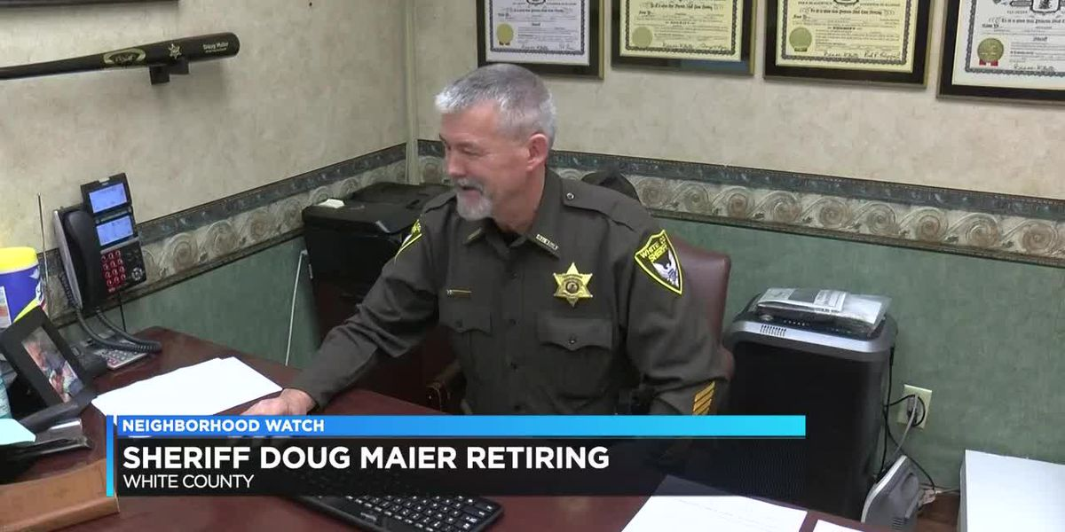 White Co. Sheriff Doug Maier announces retirement