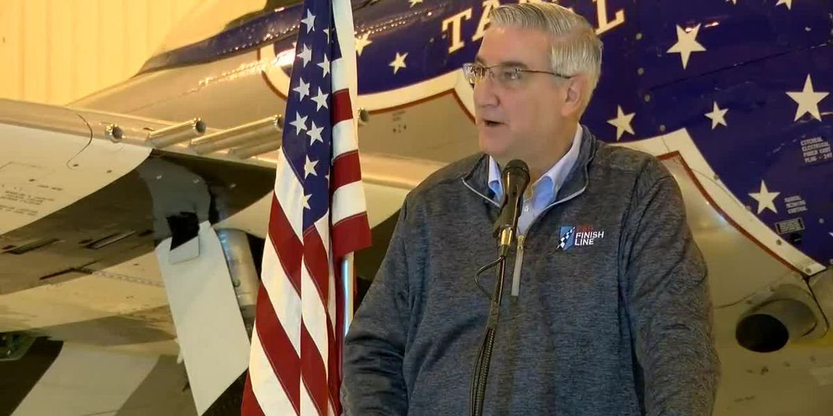 IN Gov. Holcomb makes campaign stop in Evansville ahead of Election Day