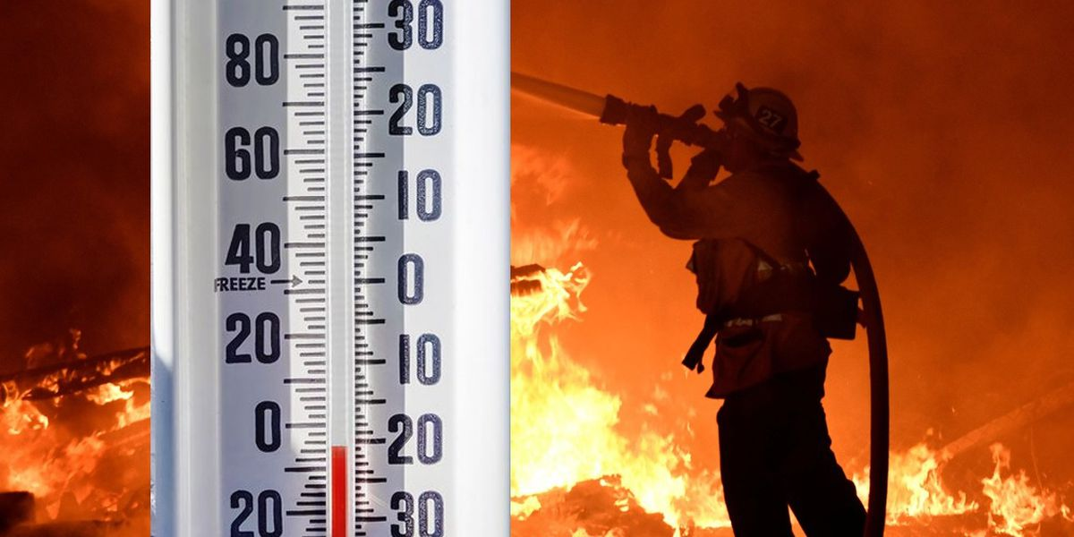 """""""It's miserable."""" Firefighters brace for the cold"""