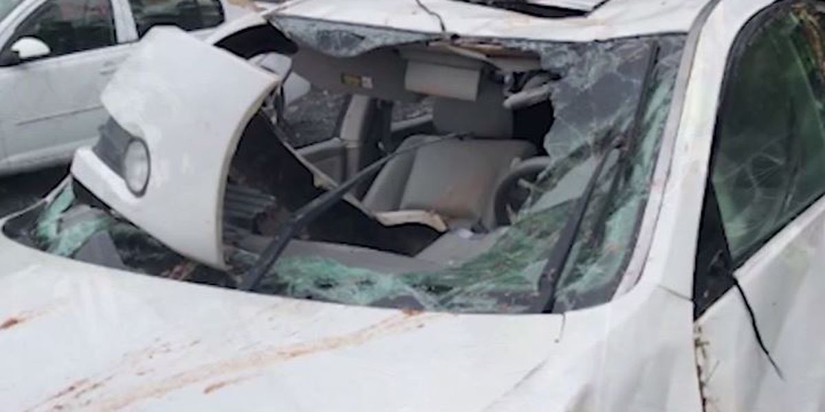 Teen credits Bible, phone tracking app with saving her life after car crash into N.C. ravine