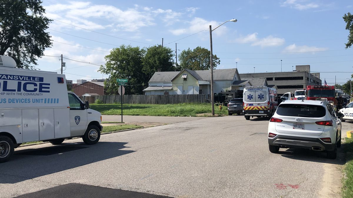 Police: Drug task force finds potentially hazardous chemicals at Evansville home
