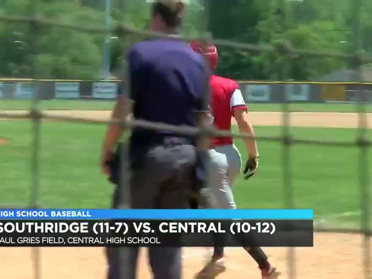 Southridge vs Central baseball