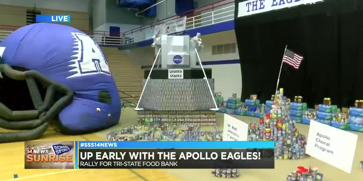 Apollo Eagles soar onto Sunrise School Spirit, pt. 2