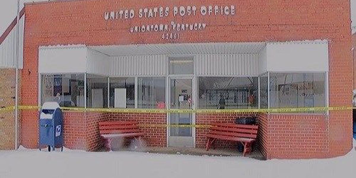 Uniontown Post Office closed due to damages