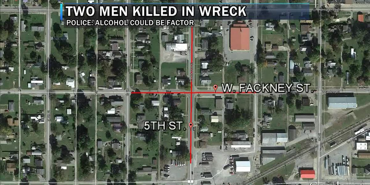 Names released of two people killed in Carmi crash