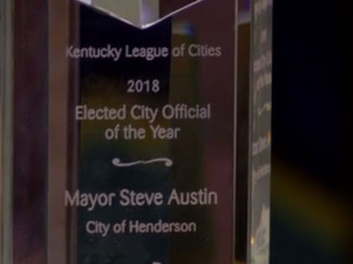 Henderson mayor honored with special award