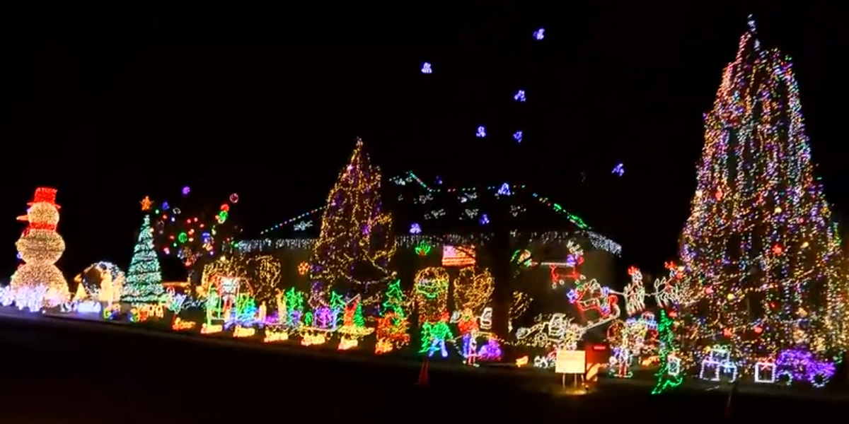 Owensboro family continues Christmas light display tradition