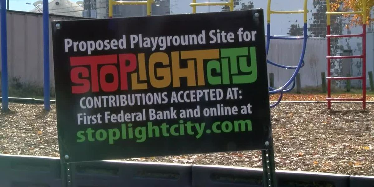 Stop Light City playground in Evansville expands