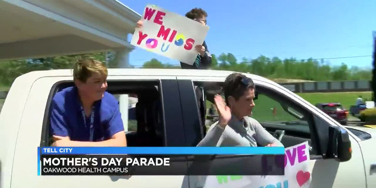 Tell City nursing home holds Mother's Day drive-by parade