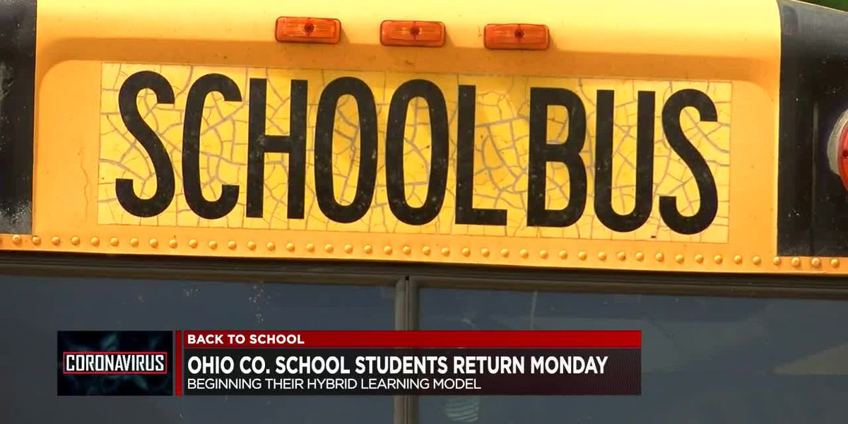 Ohio & Muhlenberg Co. schools to return to class Monday on hybrid schedule