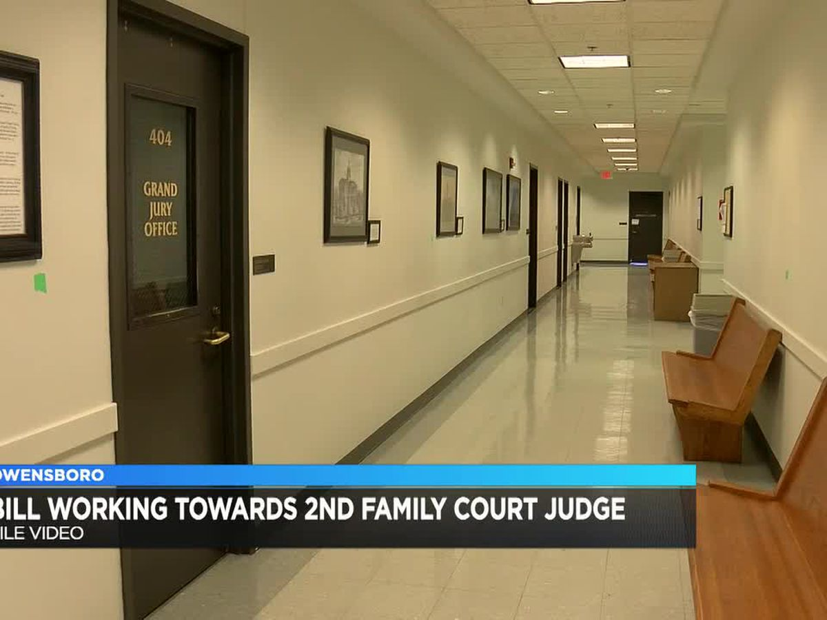 House Bill moves to Senate for 2nd family court judge in Owensboro