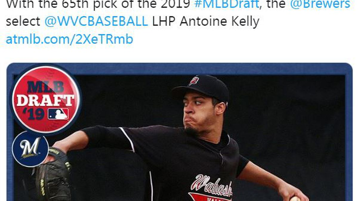 Wabash Valley's Kelly picked No. 65 by Brewers