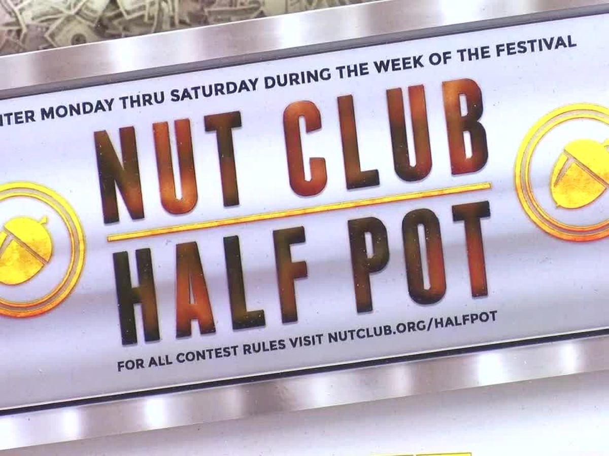 West Side Nut Club Fall Festival half pot reaches $200K