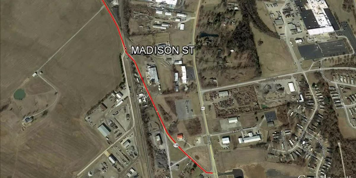 Traffic Alert: KYTC closed Ky. 136 and Madison Street in Henderson