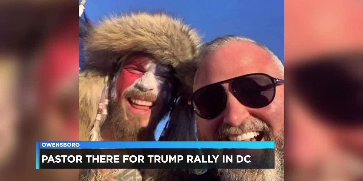 Owensboro Pastor among protestors at Capitol Hill