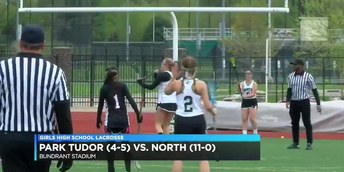 North vs Park Tudor girls lacrosse