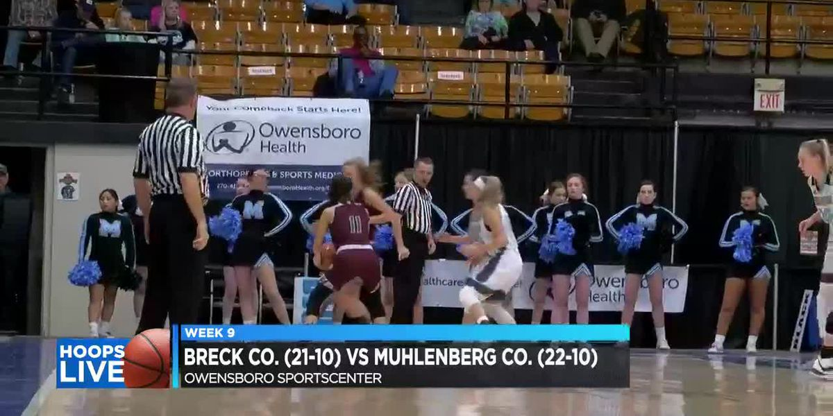 Hoops Live: Muhlenberg Co. vs. Breckinridge Co. girls basketball