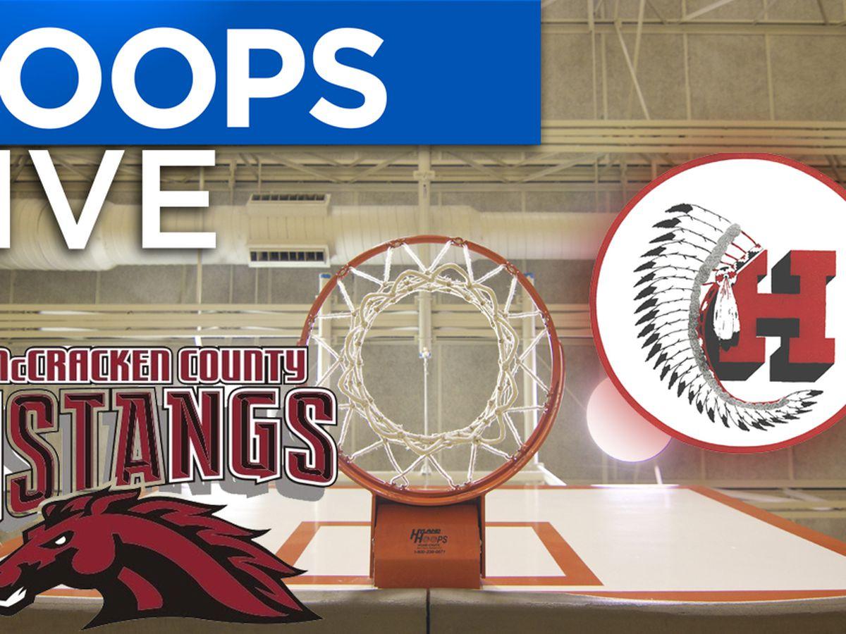 Hoops Live: McCracken Co. vs. Harrison