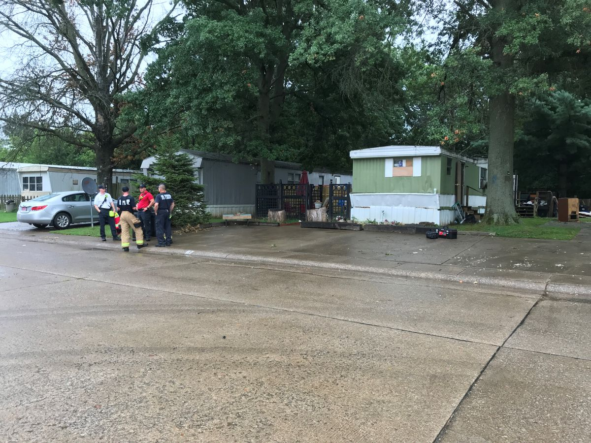 Fire under investigation after crews called to mobile home park in Henderson