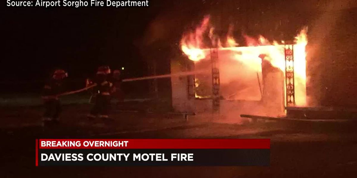 Cause of fire at old Daviess Co., KY motel under investigation