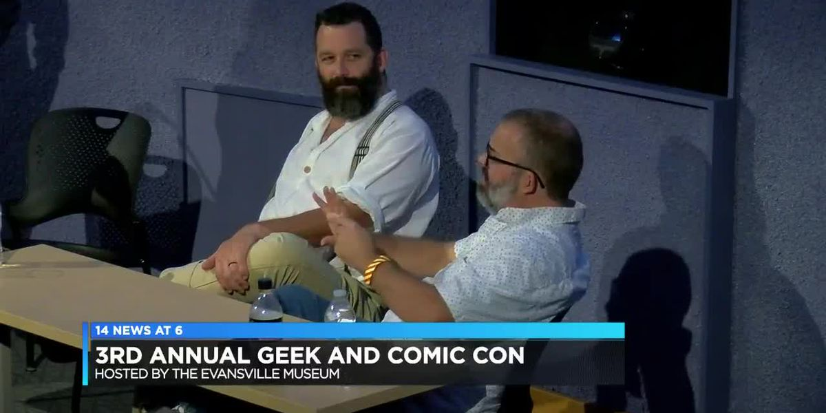 3rd Annual Evansville Museum Geek & Comic Con (coverage)