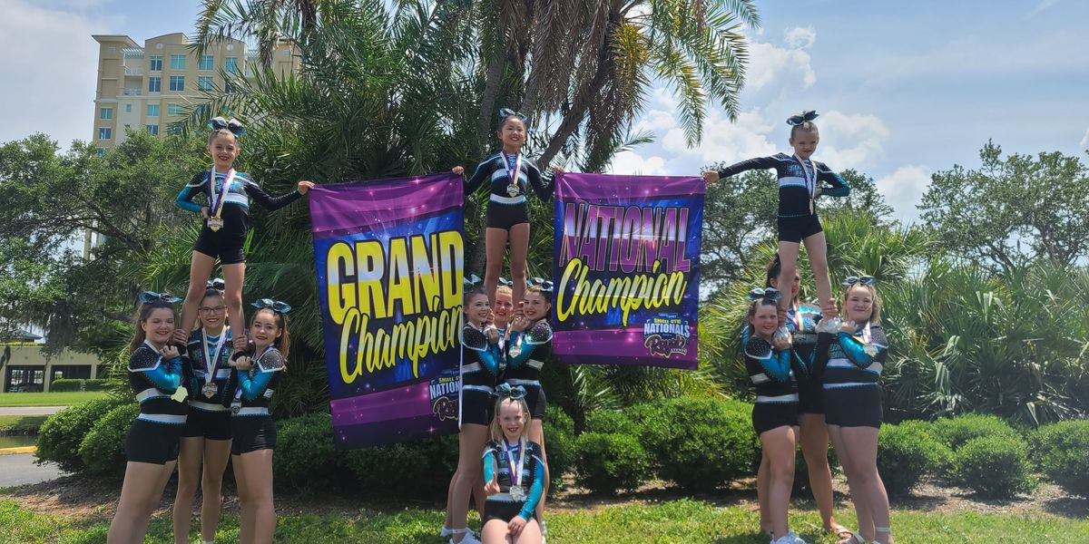 Tri-State cheerleading group earns top spot at national competition