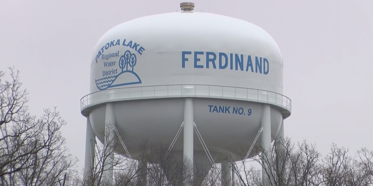 Ferdinand Town Council considers water rate increase