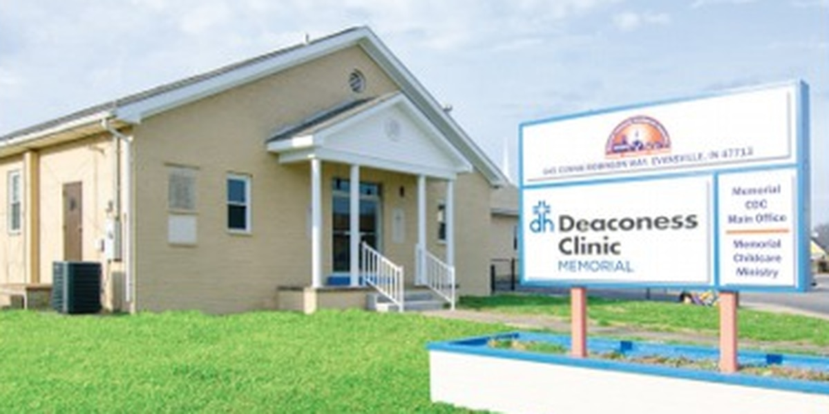 Ribbon cut on new Deaconess clinic at Memorial Baptist Church