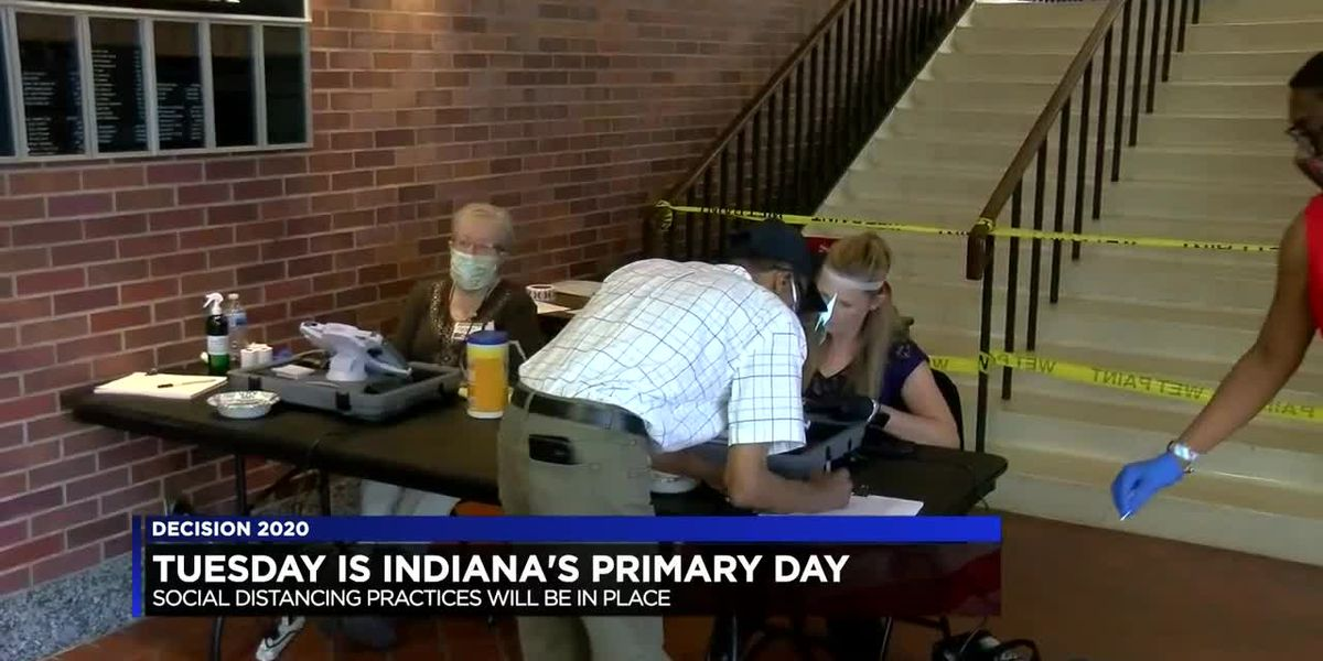 Tuesday is primary day in Indiana