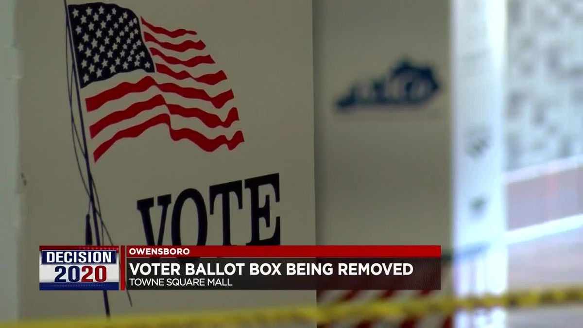 Ballot box removed at one Daviess Co. location