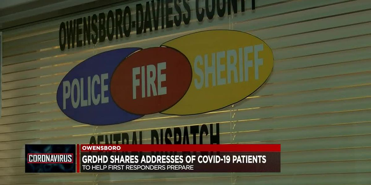 Green River District shares address of COVID-19 patients to help first responders